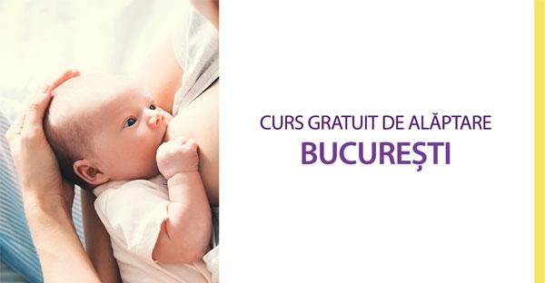 Curs gratuit de alăptare în București