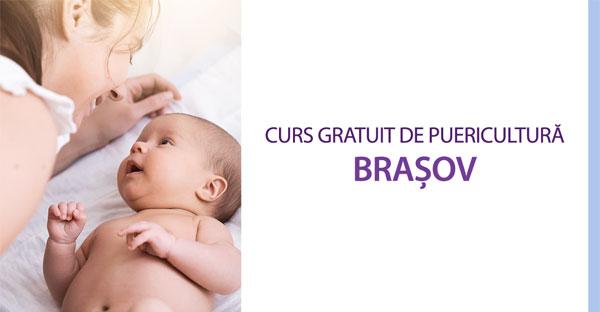 Curs gratuit de puericultură în Brașov