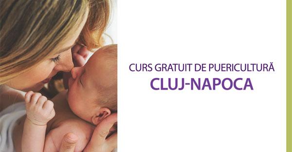 Înscriere la curs gratuit de puericultură - Cluj-Napoca