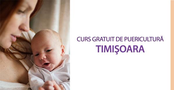 Curs gratuit de puericultură în Timișoara