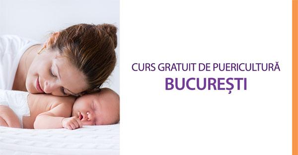 Curs gratuit de puericultură în București