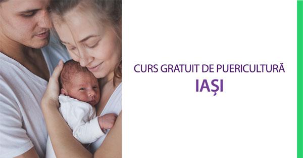 Curs gratuit de puericultură în Iași