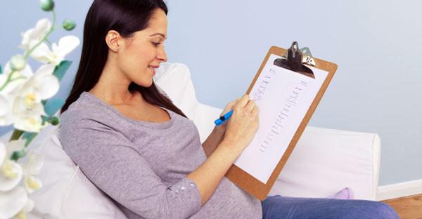 Lista cu necesarul pentru naștere