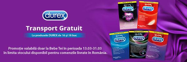 Durex - Experienţă în sănătatea sexuală şi starea de bine.