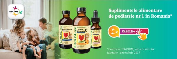 Secom - Suplimentele alimentare de pediatrie numărul 1 din România.