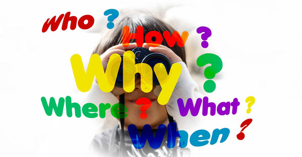 De ce pun copiii atâtea întrebări?