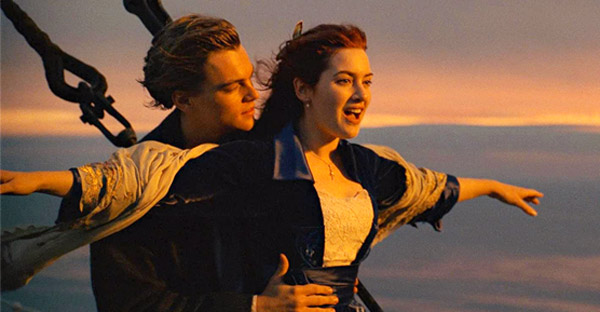 Imagine din filmul Titanic
