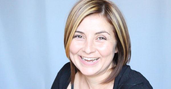 Actrița Antoaneta Zaharia